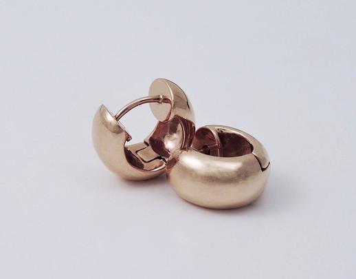 Bead 'Huggie' Earrings