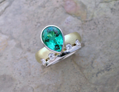 'Two Into One' Ring