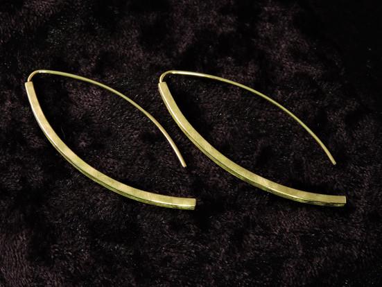 Square 'Minimalist' Earrings