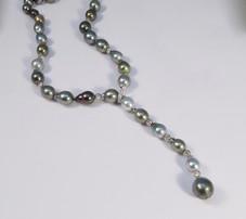 South Sea Tahitian Natural Pearl Necklace