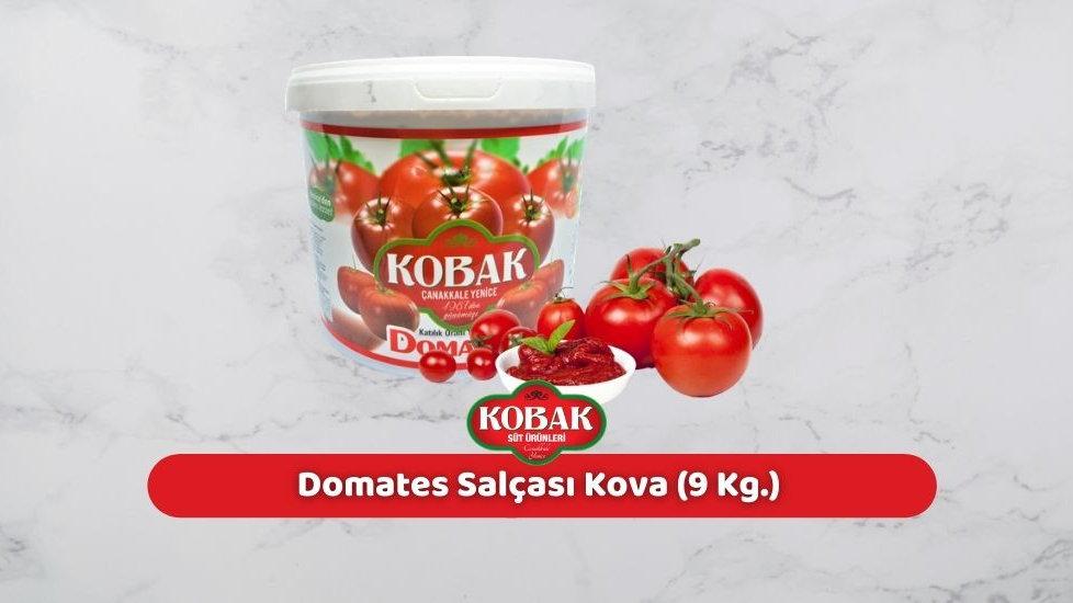 Kobak Domates Salçası Kova (9 Kg.)