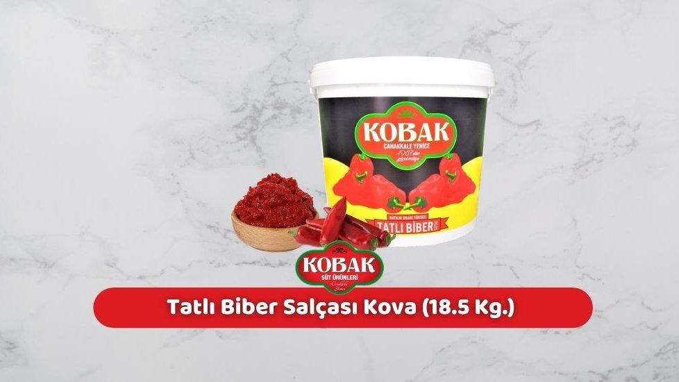 Kobak Tatlı Biber Salçası Kova (18.5 Kg.)