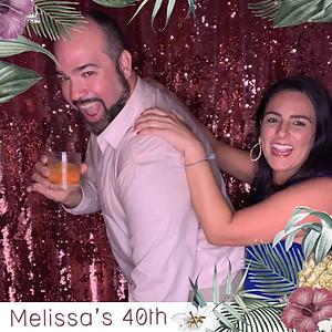 Melissa's 40th