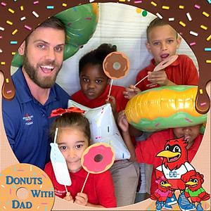 Donuts With Dad   Collier Charter Academy