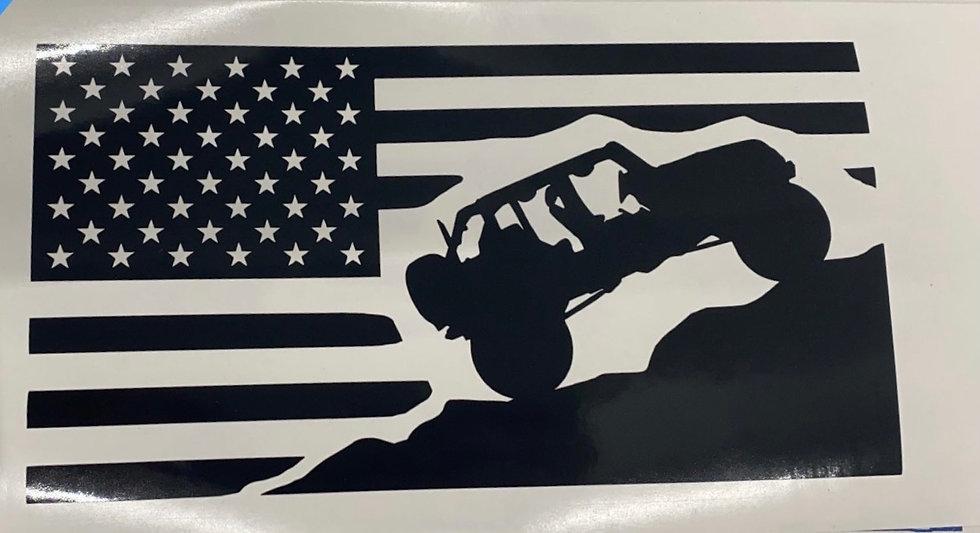 Jeep American Flag 1