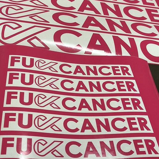FU** Breast Cancer Sticker