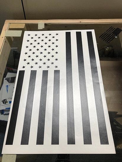 Vertical American Flag Wrap