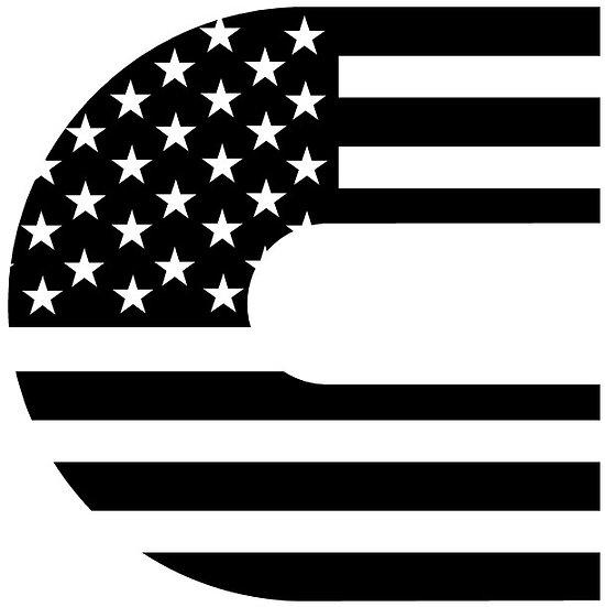 Cummins Flag Decal