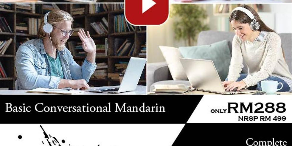 Basic Conversational Mandarin Online Learning Programme