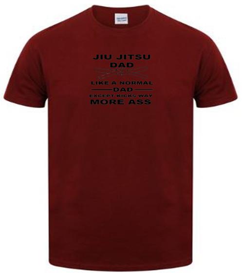 b32019fa jiu jitsu dad t shirt