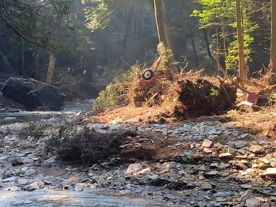 Trail status update at Otter Creek