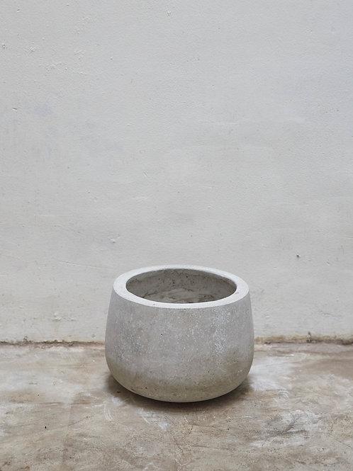 Chậu Xi Măng Bầu (D28 x H21)