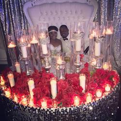 maria & Jarrell wedding pic