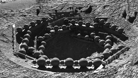 LUNAR LIVING: A generative-based morphology for inhabiting moon craters
