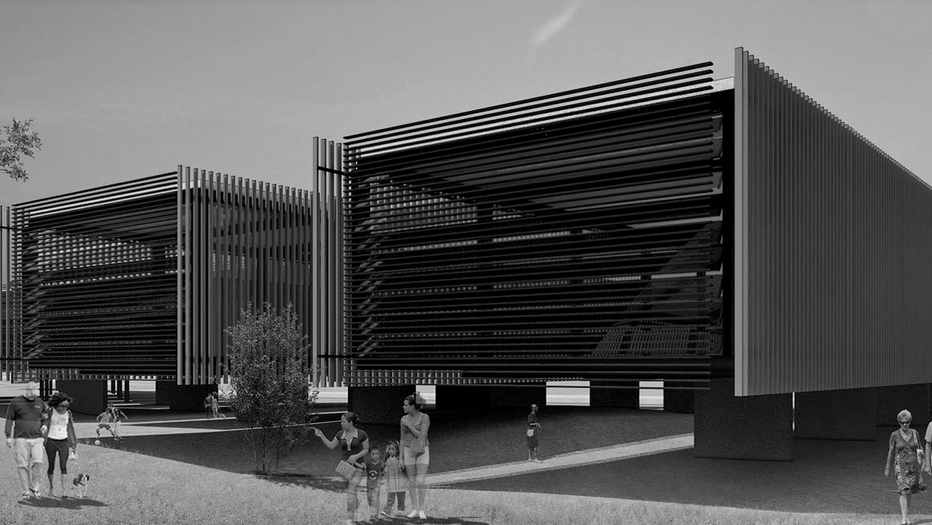 The spine as a circulation system: Public healthcare facility in Brasilia