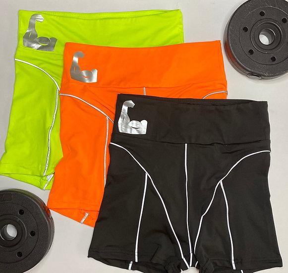 Flexx high-waist shorts mini biker shorts