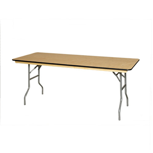 Banquet Table Rectangular 6'