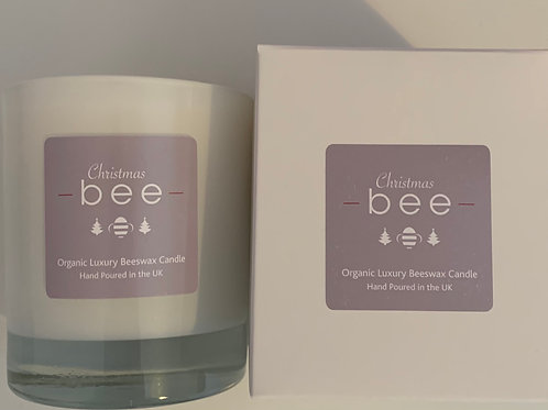 bee Christmas Candle