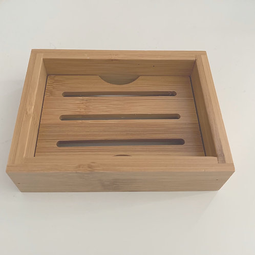 bee Bamboo Soap Dish