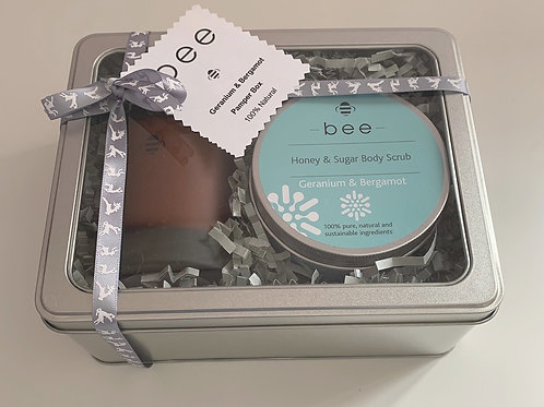 Geranium & Bergamot Pamper Box