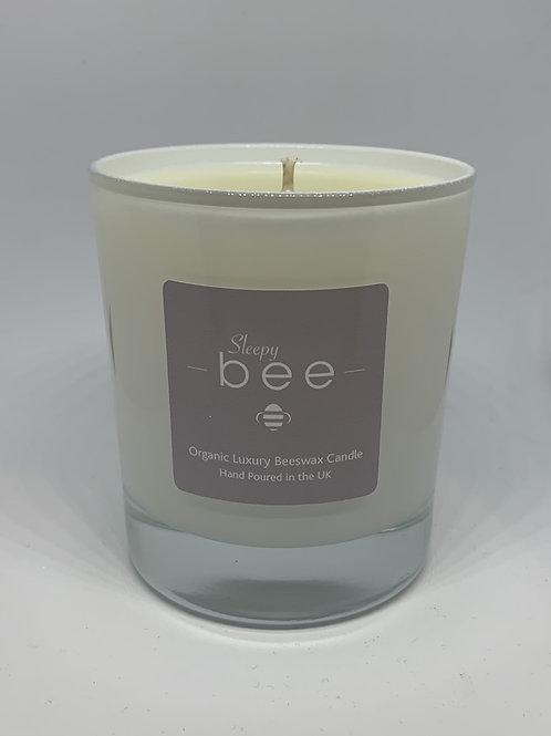 Large Sleepy bee Candle