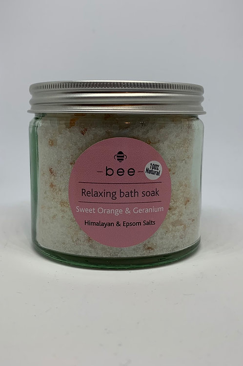 bee Relaxing Bath Soak