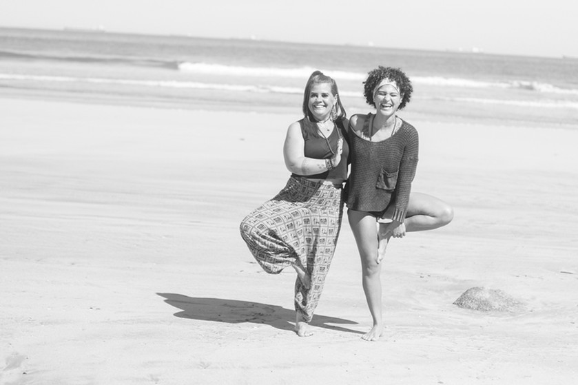 Praticantes - Claudia e Arielle