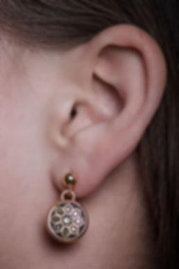 girl with earrrings