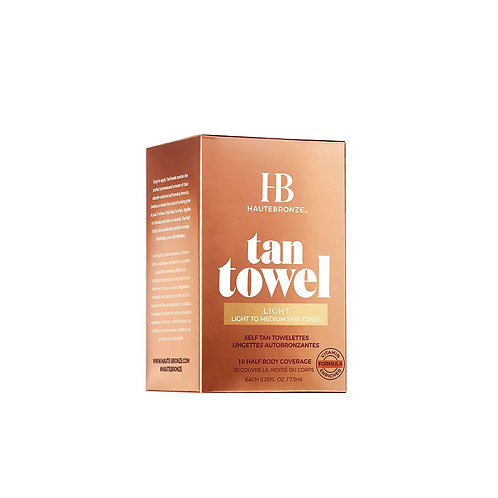 HauteBronze Tan Towel Body