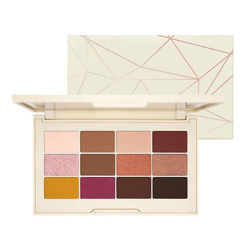 Jouer Rose Gold Matte & Shimmer Palette