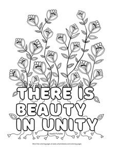 There is Beauty in Unity