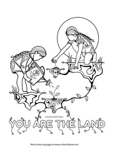 You are the land