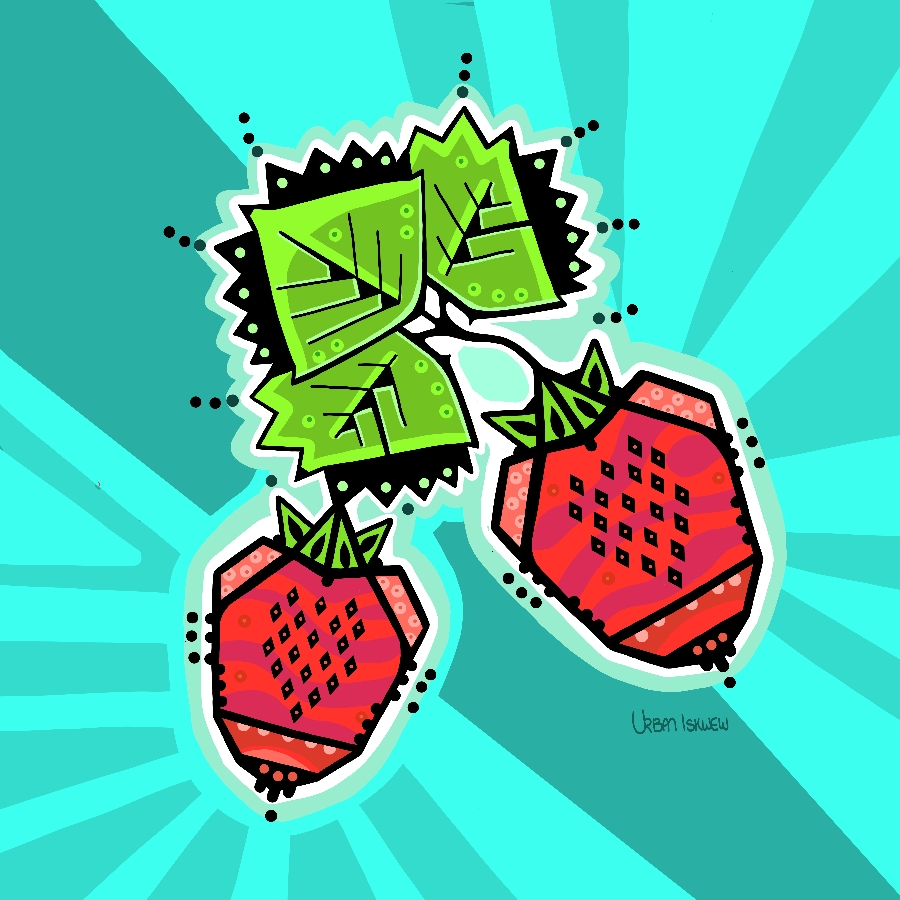 Digital Strawberries