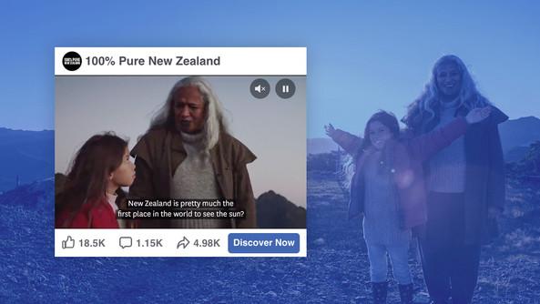 NEW ZEALAND TOURISM - 100% PURE NZ
