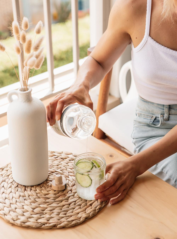 איך לשתות יותר מים אסתר ריו אלדד