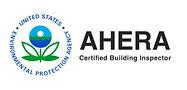 Ahera certified building inspector logo.