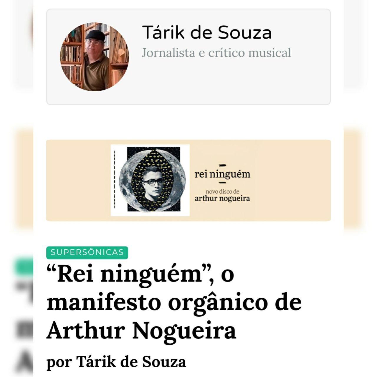 Tárik de Souza - Supersônicas