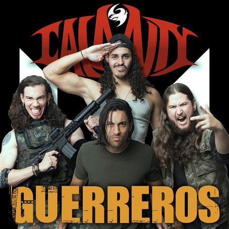"Puerto Rico Thrash band Calamity release video ""Guerreros"" for upcoming album 'Kairos'"