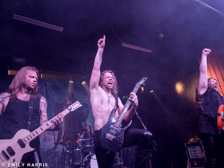 Tyr, Orphaned Land, Aeternam Live Photos from Atlanta!
