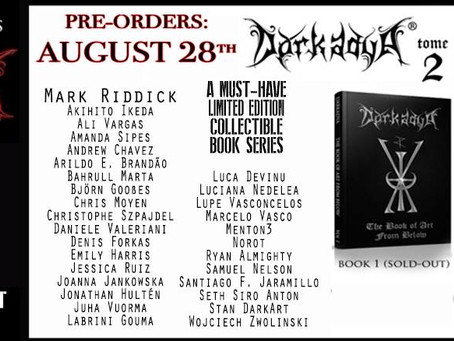 Support Art! Darkadya Book 2 Available for Pre-Sale this Week! Interview with Laryiah Hayes