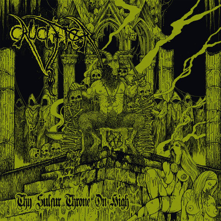 """Crucifier """"Thy Sulfur Throne On High"""" Album Review!"""