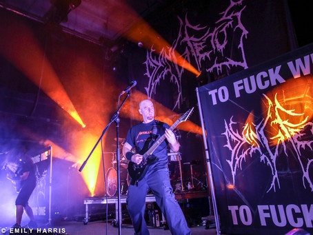 Dying Fetus Live Photos from Atlanta!