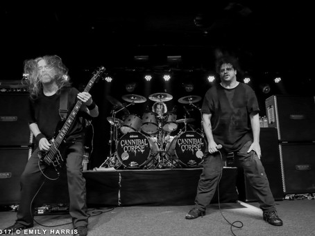 Cannibal Corpse/Power Trip/Gatecreeper Live Photos from Atlanta