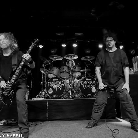 Cannibal Corpse/Power Trip/Gatecreeper Live Photos from Atlanta