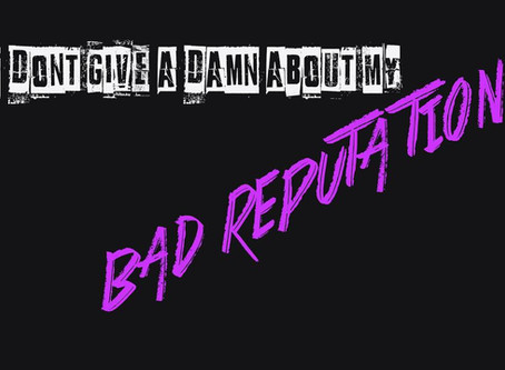 "Official Trailer for ""Bad Reputation"" Documentary Film Announced Today!"