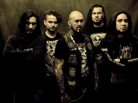 """Interview with South American melodic death metal band Eshtadur! New album """"Mother Gray"""""""