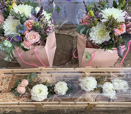 Bouquets and Buttonholes #bombasticspray