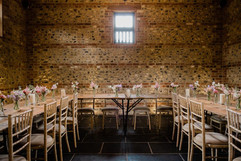 Tables before reception