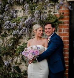 Bride and Groom, bespoke bouquet