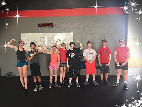Teens, CrossFit, Strong Kids, Eldridge Iowa, Fitness